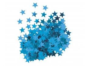 konfetti gwiazdki niebieskie