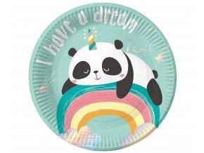 talerzyki papierowe panda