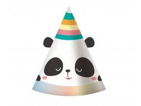 czapeczki panda
