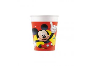 Kelímky papírové Mickey Mouse 8ks
