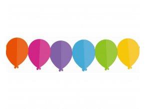 girlanda kolorowe baloniki