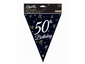 girlanda flagi 50 urodziny