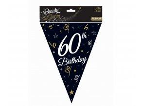 girlanda flagi 60 urodziny