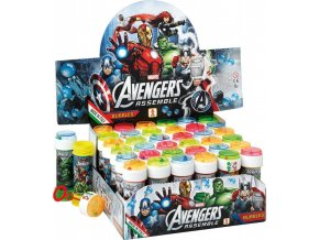 Bublifuk 60ml Avengers 4 druhy