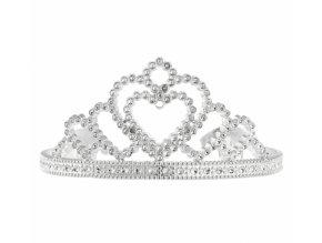 Korunka pro princeznu stříbrná