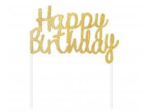 topper na tort urodzinowy