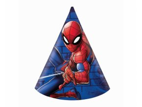 Čepičky papírové SPIDERMAN 6ks