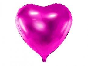 balon serce rozowe