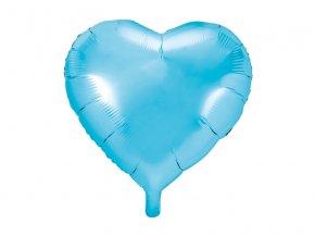 Balonek foliovy srdce Baby blue 1052958
