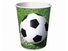 Kelímky papírové Fotbal 8ks