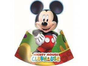 czapeczki papierowe playful mickey 6 szt