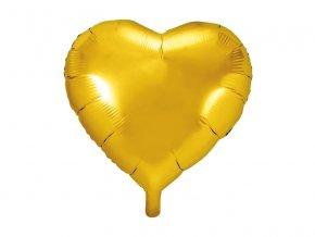 Balonek foliovy srdce zlate 1052951