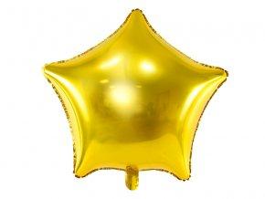 Balonek foliovy hvezda zlata 1053321