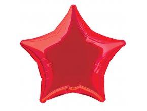 Balonek foliovy hvezda Red 1053323