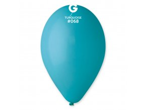 Balonek pastelový tyrkysový 30 cm