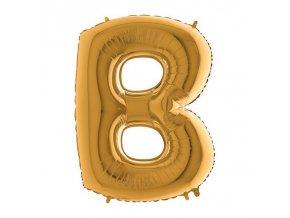 212G Letter B Gold