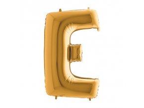 242G Letter E Gold