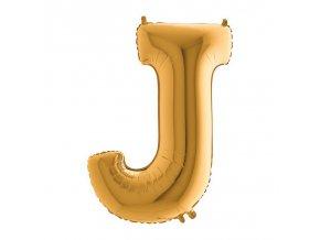 292G Letter J Gold