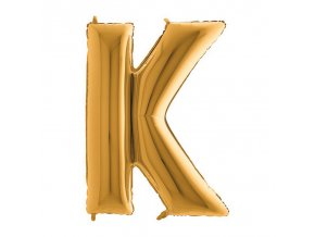 302G Letter K Gold