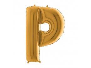 352G Letter P Gold