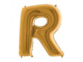 372G Letter R Gold