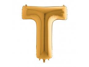 392G Letter T Gold