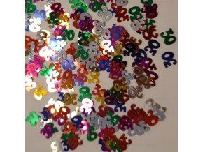 """Konfety na stůl """"30"""" barevné"""