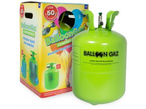 Helium na 50 balonků