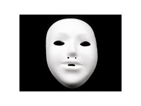 Maska dětská na domalování