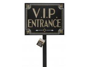 placuta decorativa cu sclipici si cu suport pentru petreceri intrare vip ca 33 x 725 cm radar 190195