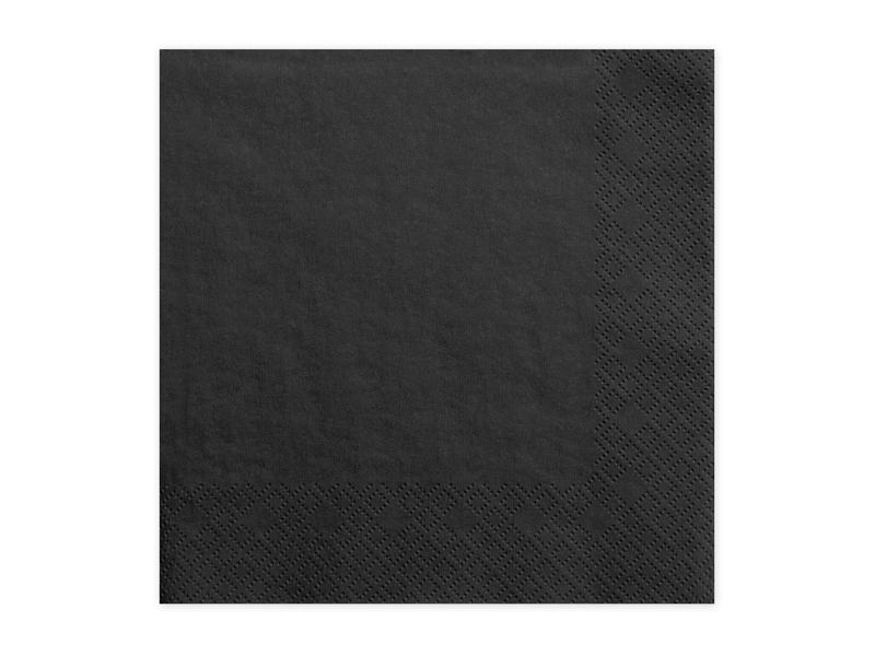 Ubrousky papírové černé