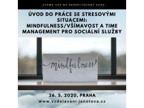 Akreditované kurzy pro sociální pracovníky 2020 Mindfulness květen Praha
