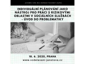 Akreditovaný kurz MPSV 2020 individuální plánování Praha