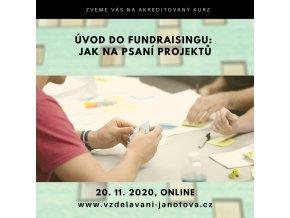 Akreditované kurzy MPSV 2020 Úvod do fundraisingu listopad Praha