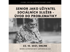 Akreditovaný kurz senior Online říjen 2021