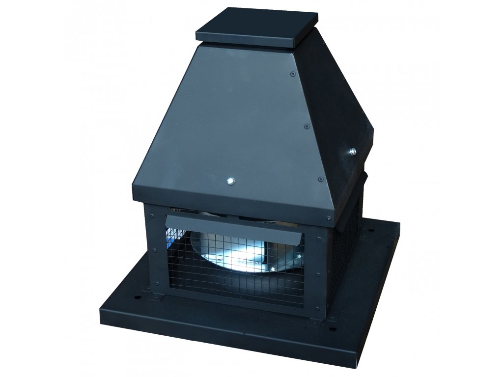 Střešní ventilátory pro odtah spalin
