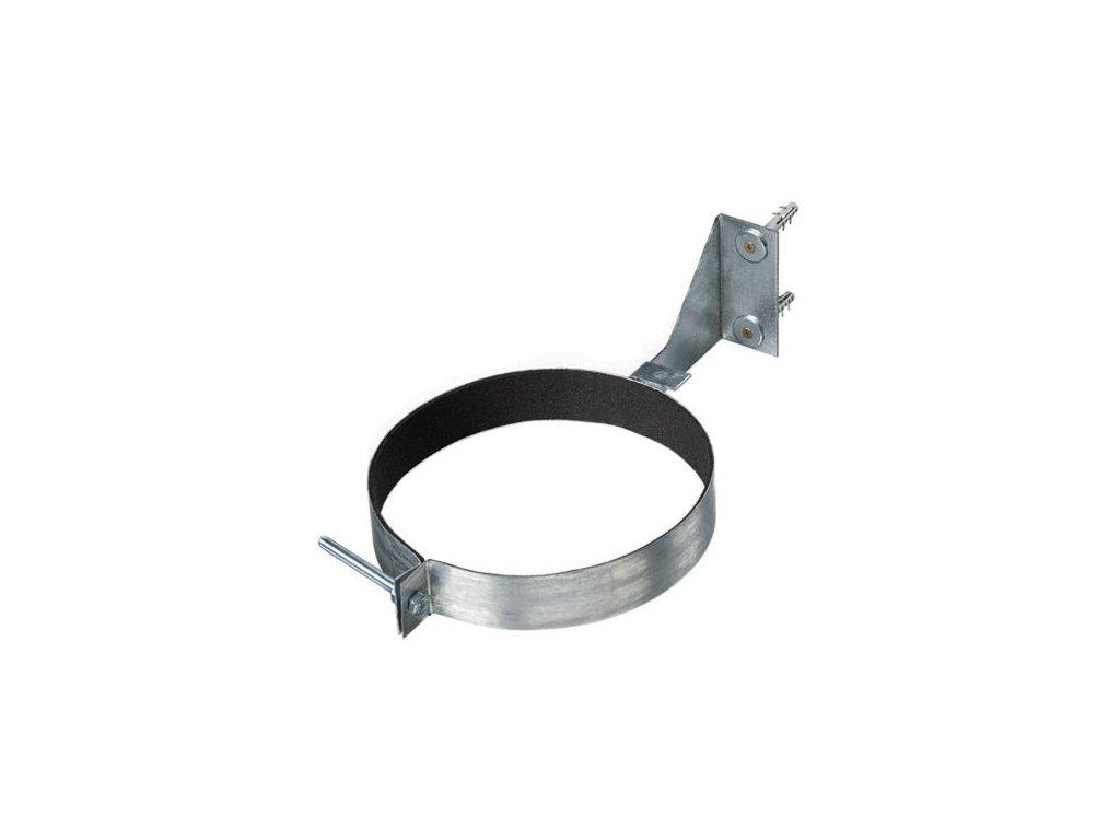 Objímka na potrubí držák CZK 100 s gumou a držákem