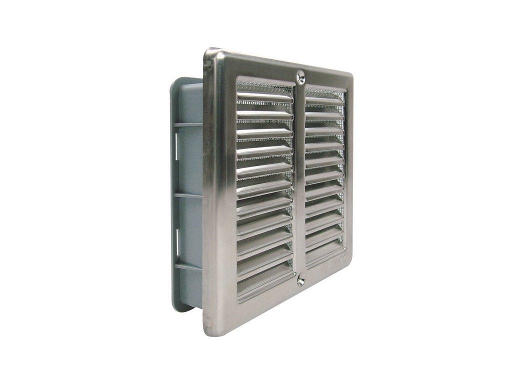 Ventilační mřížka nerez Haco NVM 150x150