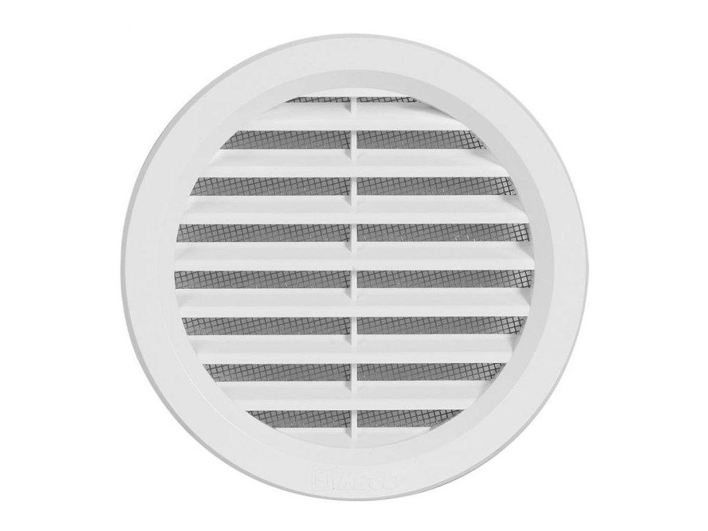 Ventilační mřížka VM 140 bílá
