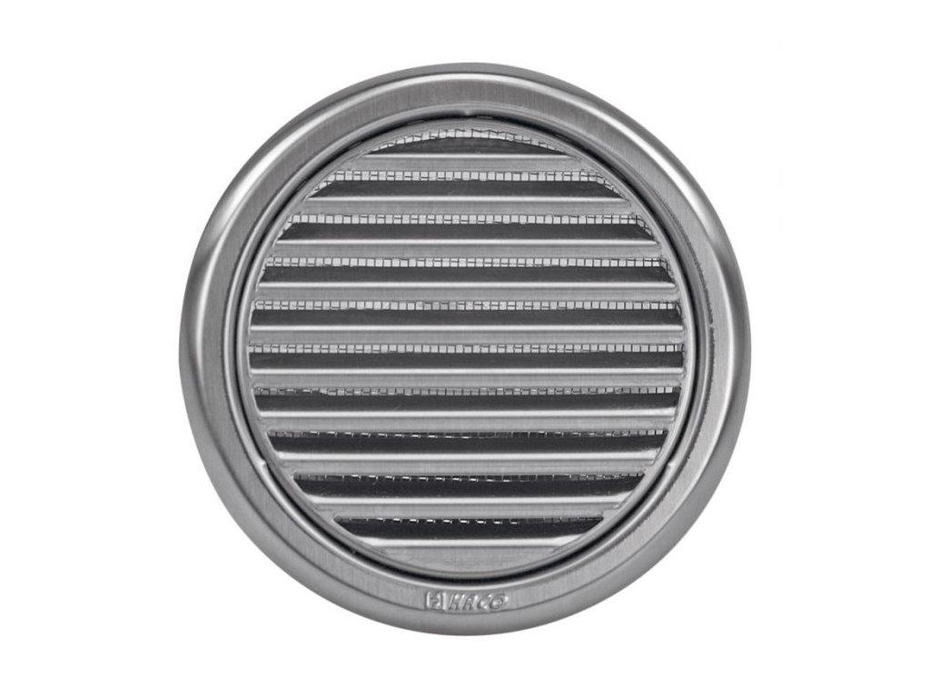 Ventilační mřížka nerez kruhová Haco NVM 125