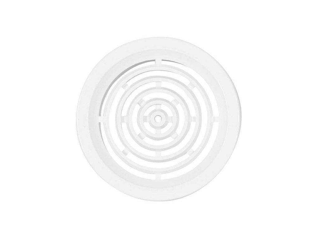 Ventilační mřížka kruhová 50 mm VM 50 B bílá /4 kusy/