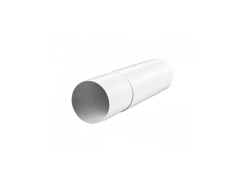 Vzduchotechnické potrubí teleskopické 100 mm/0,5 m PVC 1805