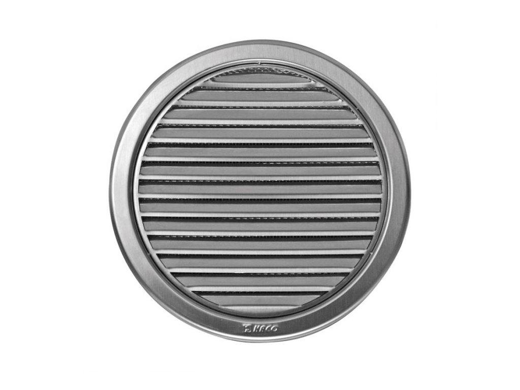Ventilační mřížka nerez kruhová Haco NVM 150