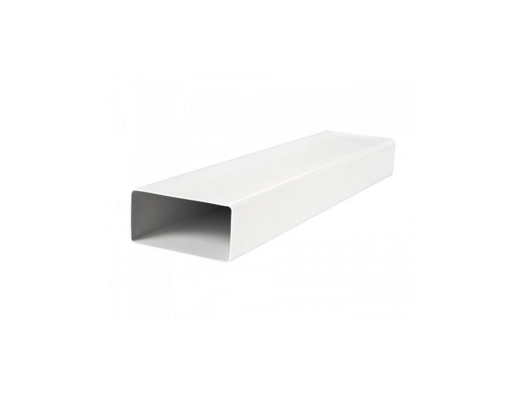 Ventilační potrubí ploché PVC 204x60/1,5 m