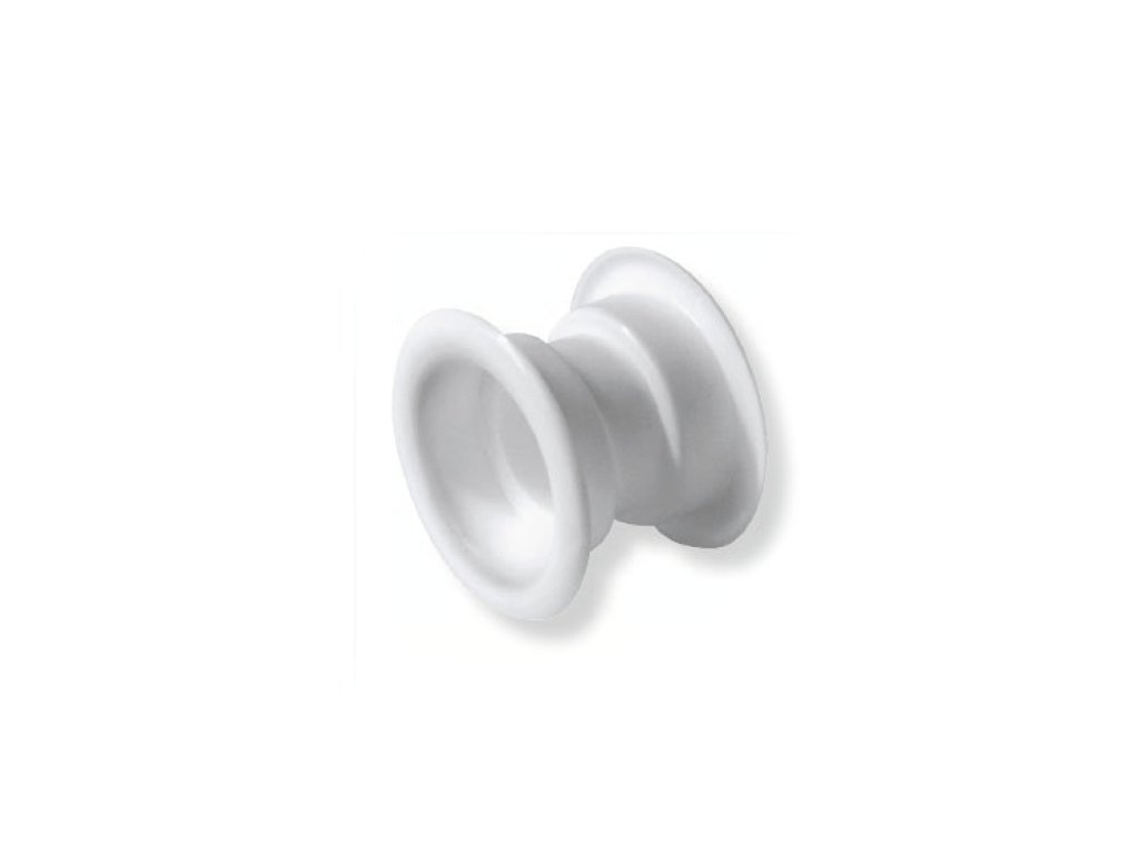 Ventilační mřížka do dveří 40 mm T14 bílá