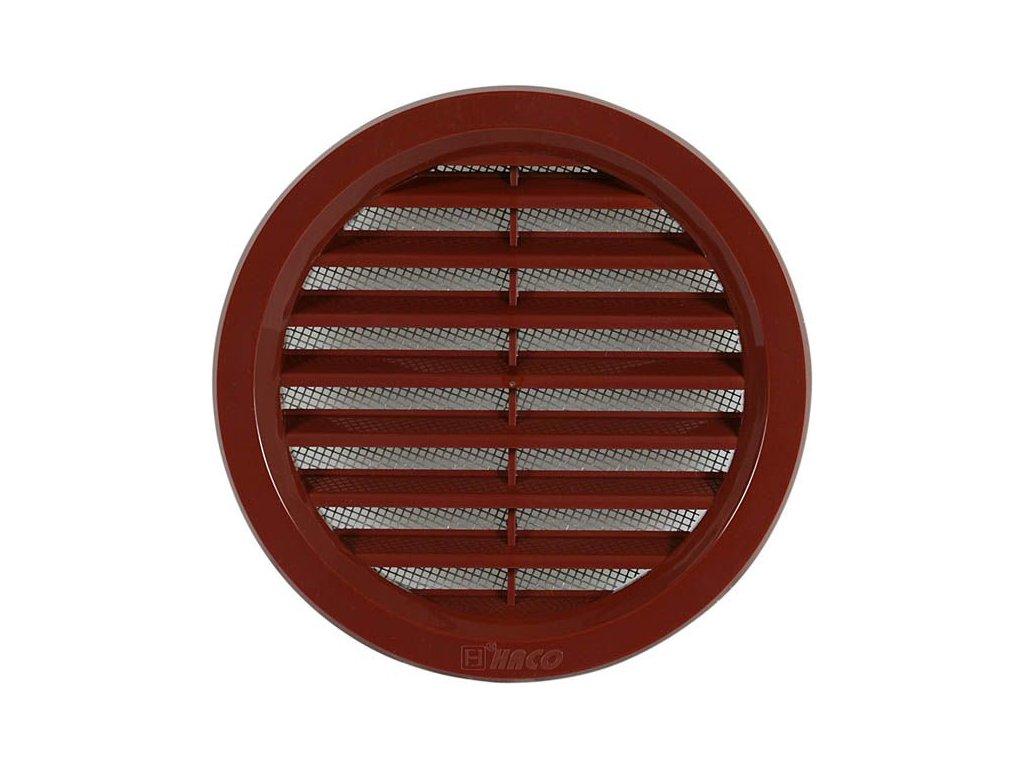 Ventilační mřížka VM 100 H hnědá