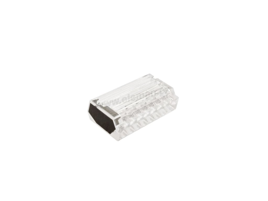 Svorka bezšroubová typu Wago 8 x 2,5 mm2 transparentní