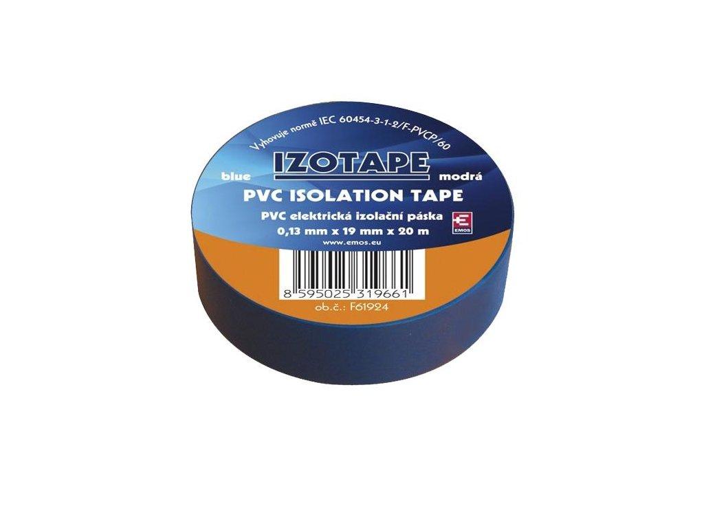 Izolační páska PVC 19/20 modrá