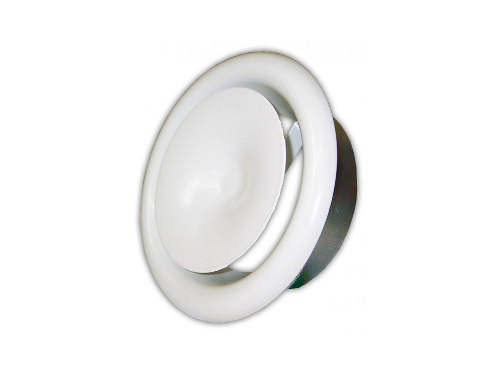 Anemostat 125 mm přívodní kovový