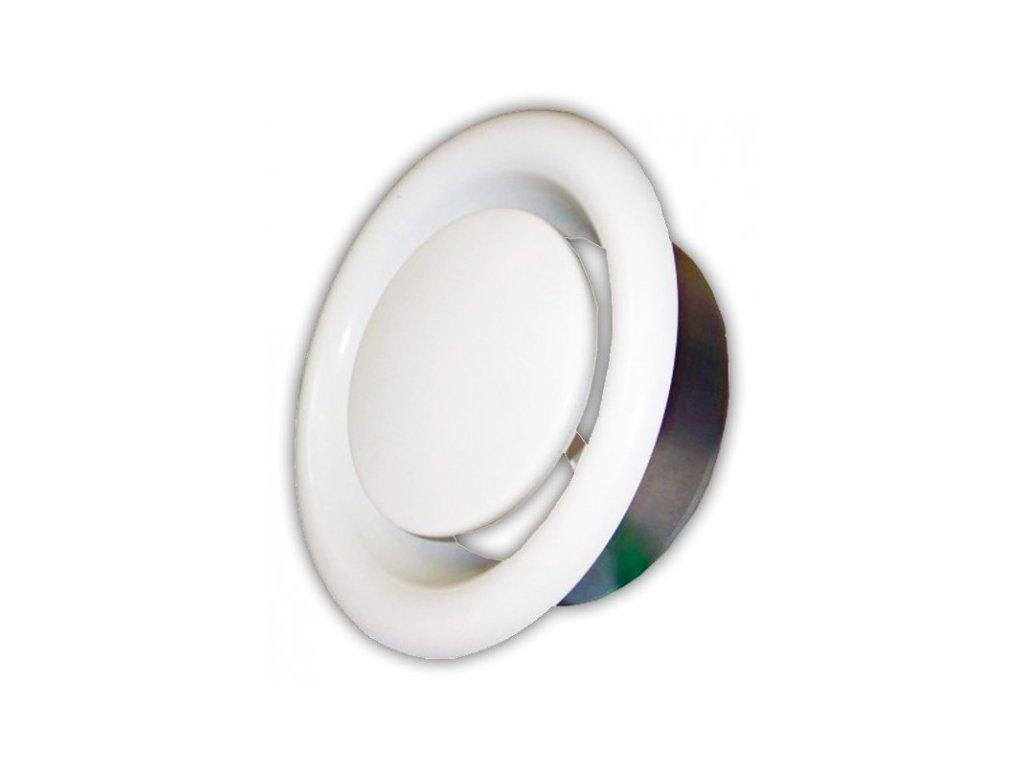 Anemostat  80 mm odvodní kovový